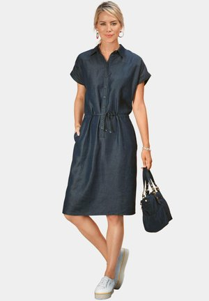 Denim dress - jeansblau