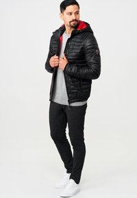 INDICODE JEANS - AGUILLAR - Winter jacket - black - 1