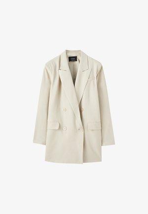 MIT VIER KNÖPFEN  - Krátký kabát - beige