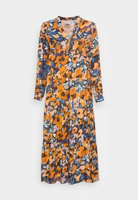 Emily van den Bergh - Day dress - black orange - 3