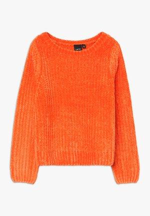 NLFOCAMILLE - Maglione - mandarin orange
