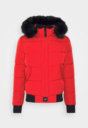 IRRIDESCENT - Zimní bunda - red/black