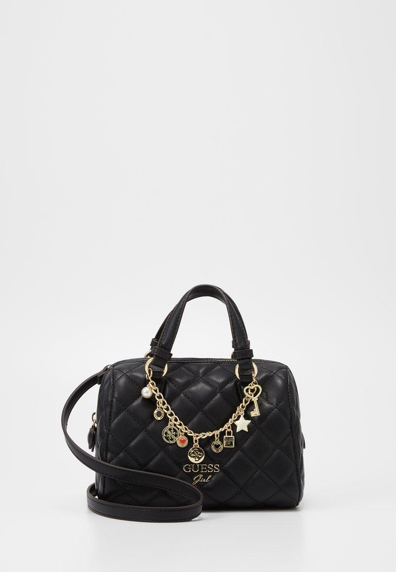 Guess - STACIE MINI BOX - Across body bag - black