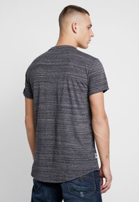 G-Star - LASH GR - Camiseta estampada - dark black - 2