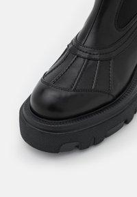 MSGM - BOOT - Platform ankle boots - black - 6