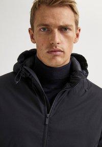 Massimo Dutti - Light jacket - blue-black denim - 4