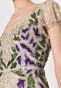 Adrianna Papell - BEADED LONG GOWN - Occasion wear - biscotti - 4