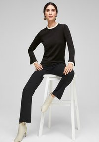 s.Oliver BLACK LABEL - Jumper - black - 1