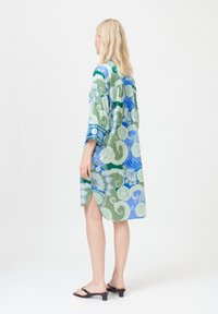 Dea Kudibal - KAMILLE - Day dress - khanga green - 2