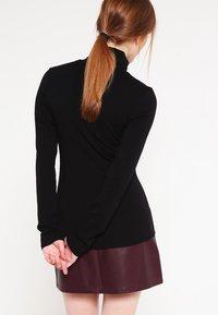Modström - TANNER   - Long sleeved top - black - 2