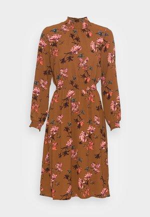 ONLNOVA LUX SMOCK DRESS - Day dress - argan oil/fall devon