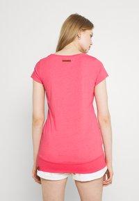Ragwear - LESLY - Jednoduché triko - pink - 2
