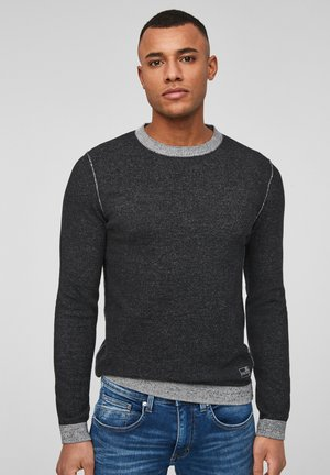 Jumper - black melange