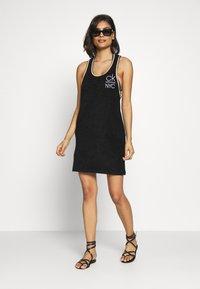 Calvin Klein Swimwear - PRIDE EDIT TANK DRESS - Complementos de playa - black - 1