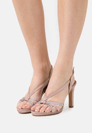 Sandals - rose glam