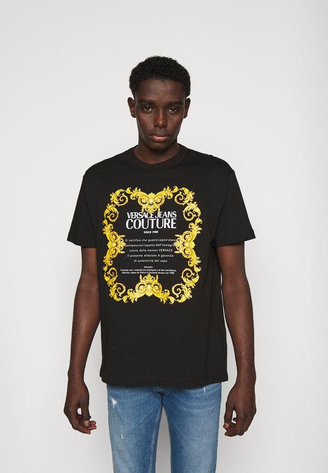 MOUSE - T-shirt imprimé - mottled olive