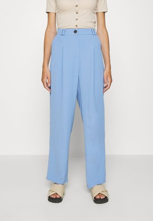 SUIT TROUSERS - Bukser - blue