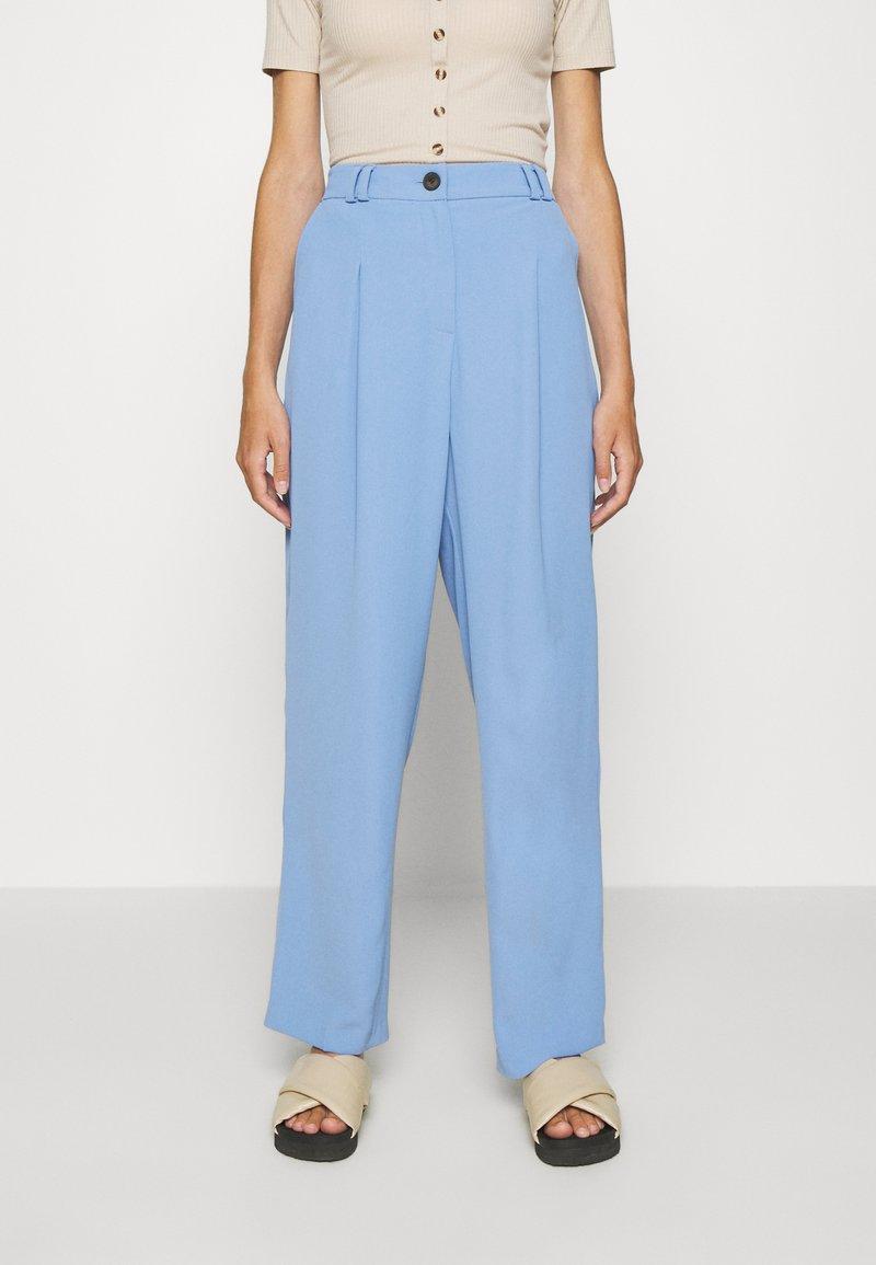 Topshop - SUIT TROUSERS - Pantalones - blue
