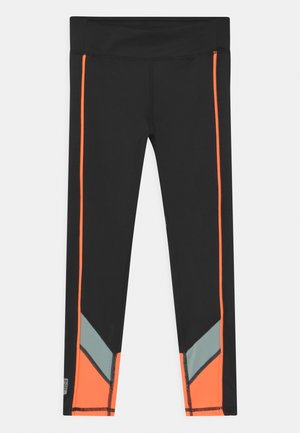 ONPDANDO GIRLS - Trikoot - black/gray mist/sunset orange