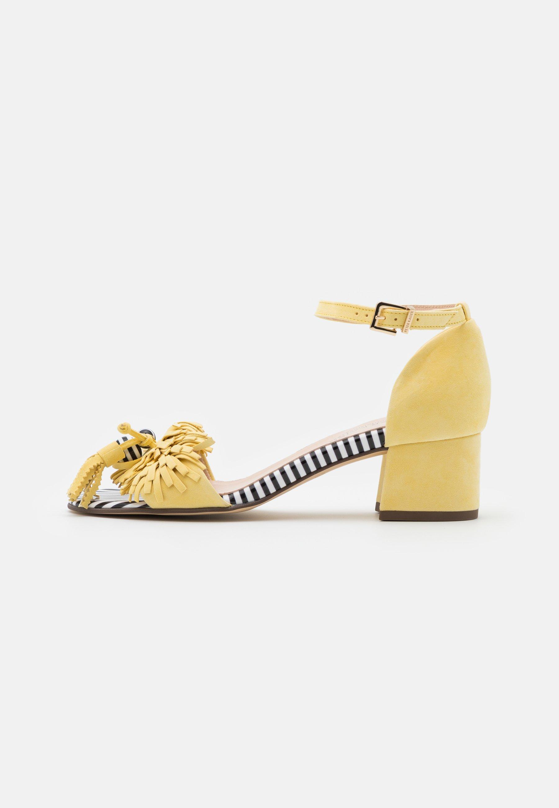 Gelbe Sandalen online kaufen   Unverzichtbar für den Sommer