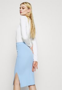 4th & Reckless - REBEKAH SKIRT - Pencil skirt - blue - 3