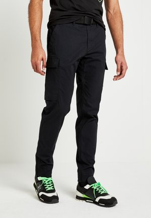 UNISEX LEWIS HAMILTON CARGO PANT - Cargo trousers - black