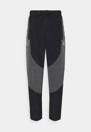PANT - Cargobroek - black/grey/black/white