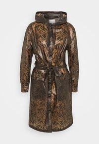 Cream - SEVICA RAINCOAT - Waterproof jacket - brown - 0