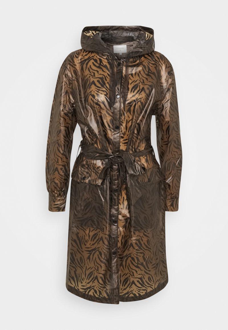 Cream - SEVICA RAINCOAT - Waterproof jacket - brown