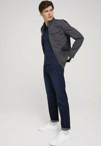 TOM TAILOR - BIKER - Light jacket - tarmac grey - 1