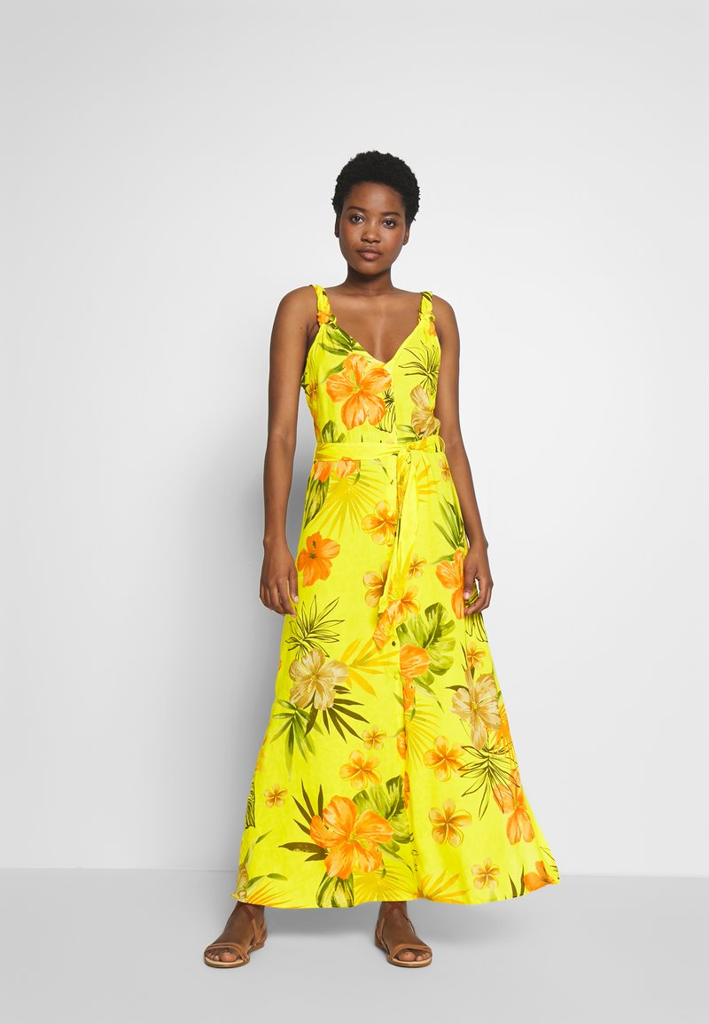 Desigual - VEST CORCEGA - Maxi dress - blazing