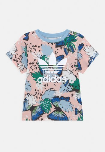 TEE - Print T-shirt - haze coral/multicolor