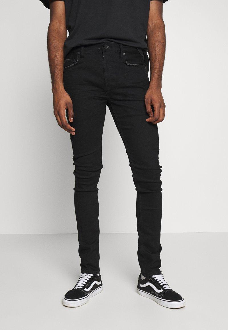 AllSaints - CIGARETTE  - Slim fit jeans - black