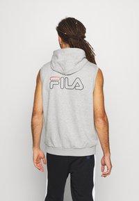 Fila - LUX SLEEVELESS HOODIE - Sweat à capuche - light grey - 2