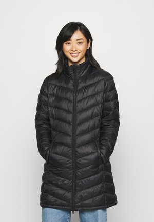 VISIBIRIA NEW LONG JACKET - Winter coat - black