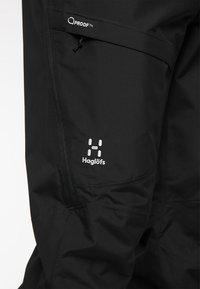 Haglöfs - LUMI LOOSE PANT - Snow pants - true black - 5