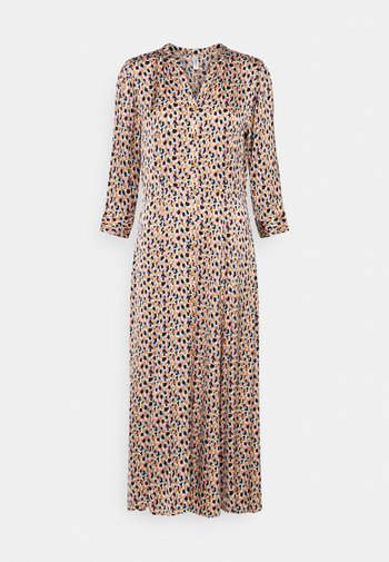 ODIANA  - Vestido camisero - biscuit combi