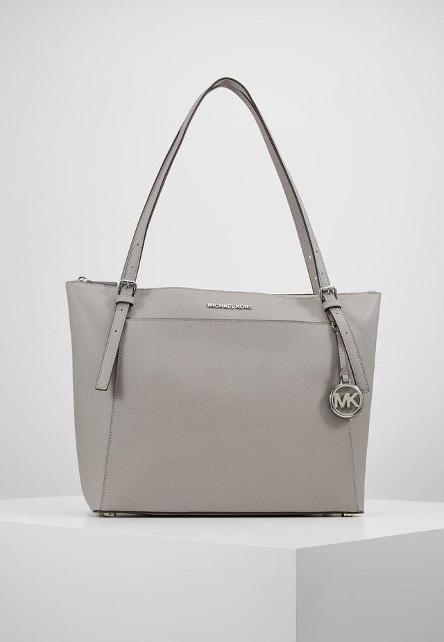 VOYAGER TOTE - Handbag - pearl grey