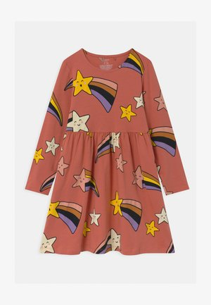 MINI SHOOTING STARS - Jersey dress - dusty coral