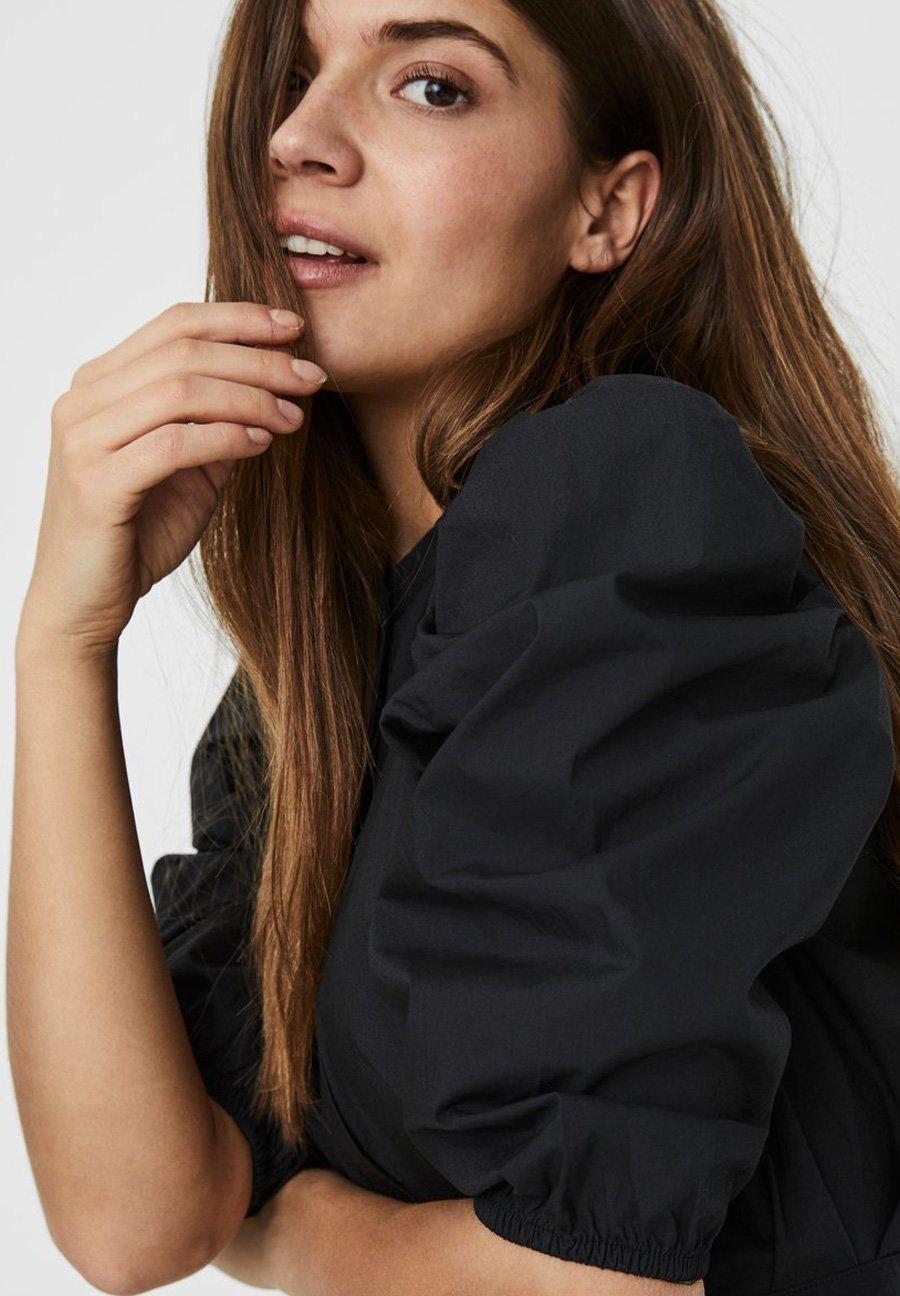 Mujer KLEID 2/4-ÄRMEL - Vestido camisero
