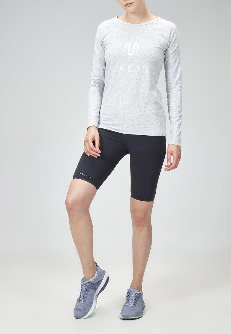 MOROTAI - Long sleeved top - light grey