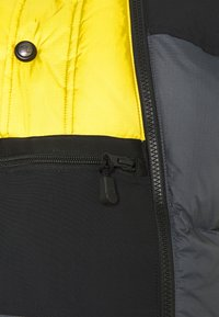 The North Face - STEEP TECH JACKET UNISEX - Piumino - vanadis grey/ black/lightning yellow - 2