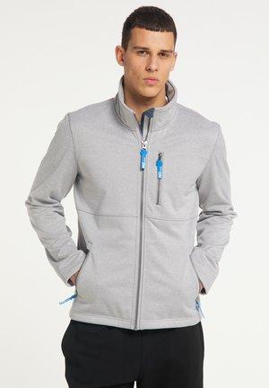 Fleece jacket - hellgrau melange
