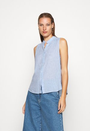 BUTTON UP - Button-down blouse - light blue