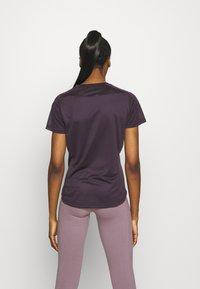adidas Performance - OWN THE RUN TEE - T-shirts med print - purple - 2