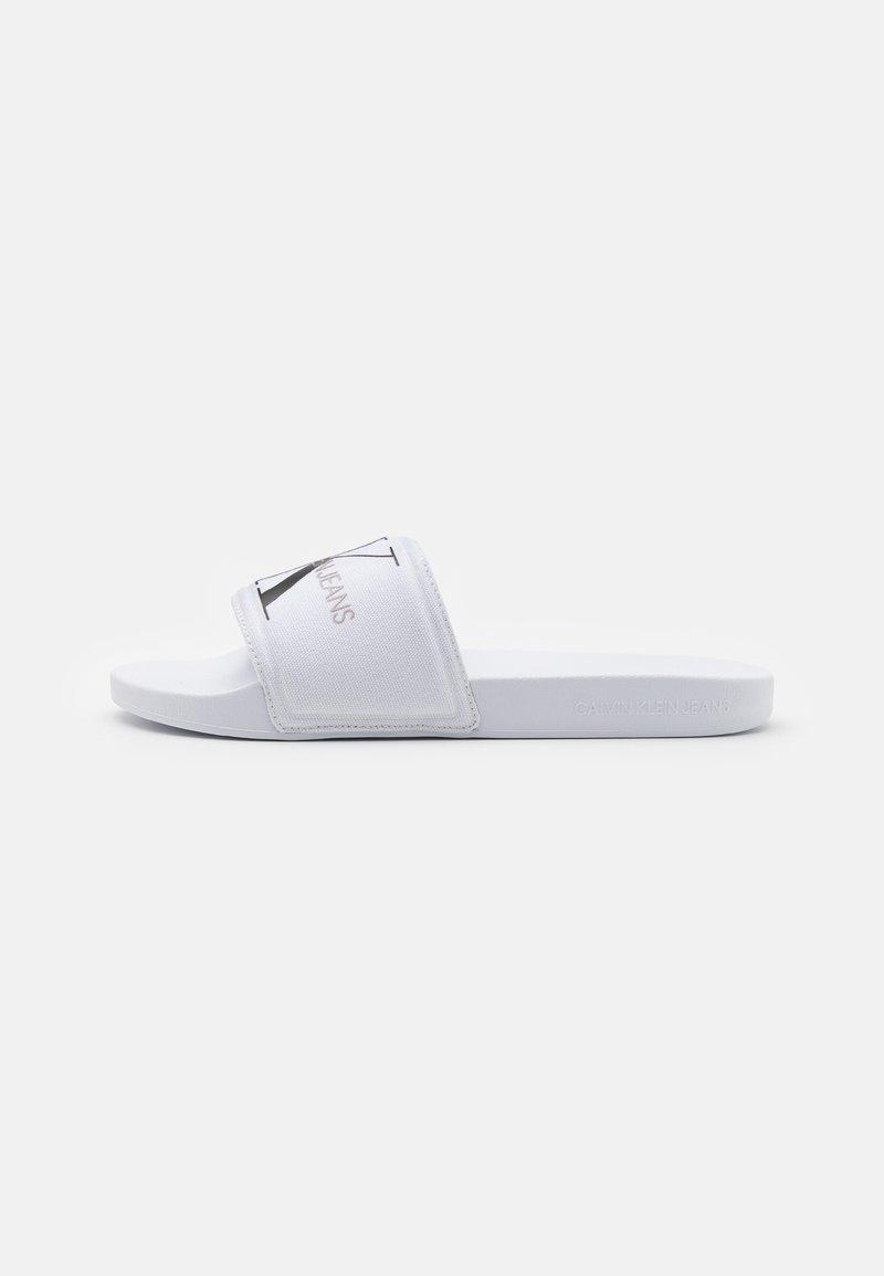 Calvin Klein Jeans - SLIDE MONOGRAM  - Mules - bright white