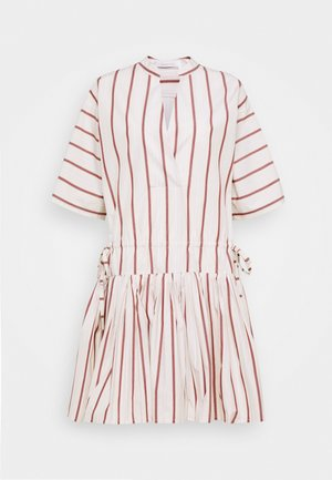 Day dress - red/beige