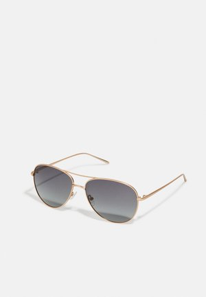 SUNGLASSES NANI - Gafas de sol - gold-coloured/grey