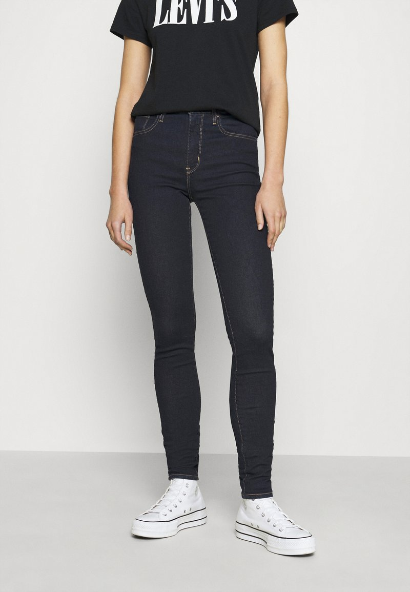 Levi's® - 721™ HIGH RISE SKINNY - Jeansy Skinny Fit - rinsed denim
