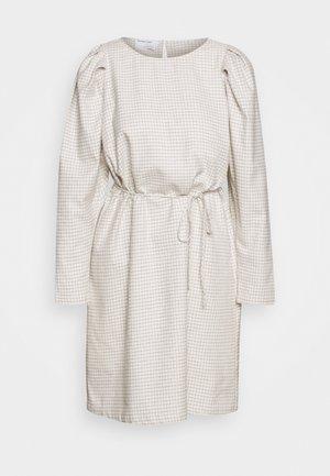 ALFIE SLEEVE DRESS - Vestido informal - cream/black